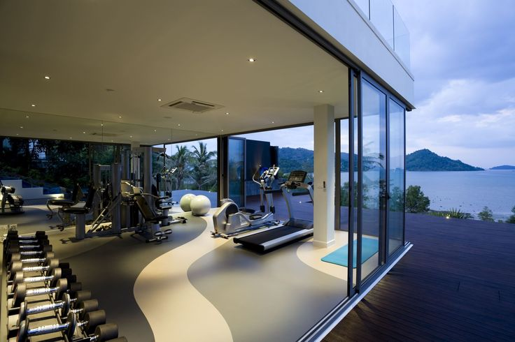 Extreme makeover: what you could put in your dream house...Sweat it out: your own personal gym with sliding doors