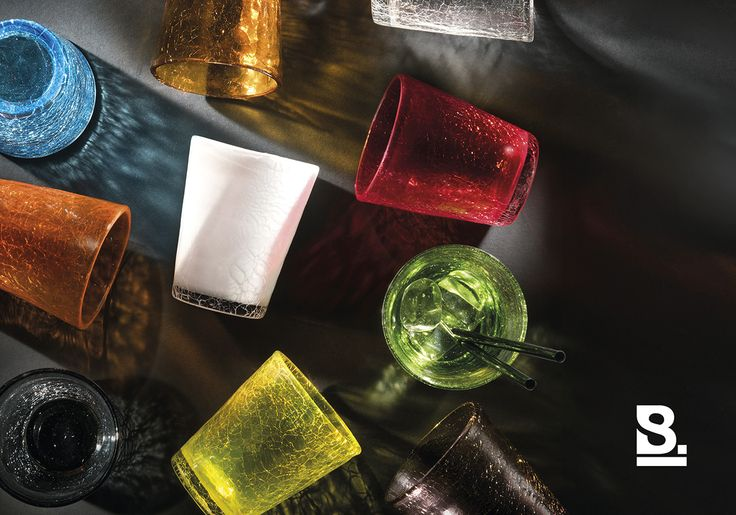 Fade, Collezione Ice  photo: Studio Buschi  #homeware #glass #colors #ice #shadows #studiobuschi