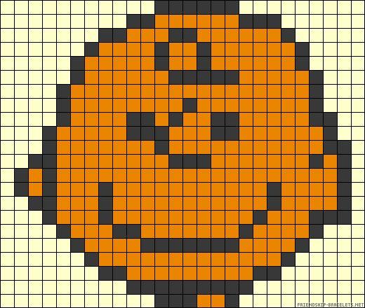Snoopy Charlie Brown perler bead pattern