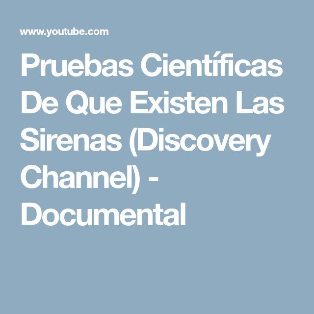Pruebas Científicas De Que Existen Las Sirenas (Discovery Channel) - Documental