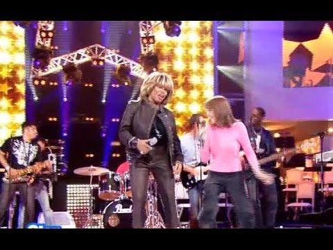 Tina Turner - 'Proud Mary' Rehearsal - France (2004)