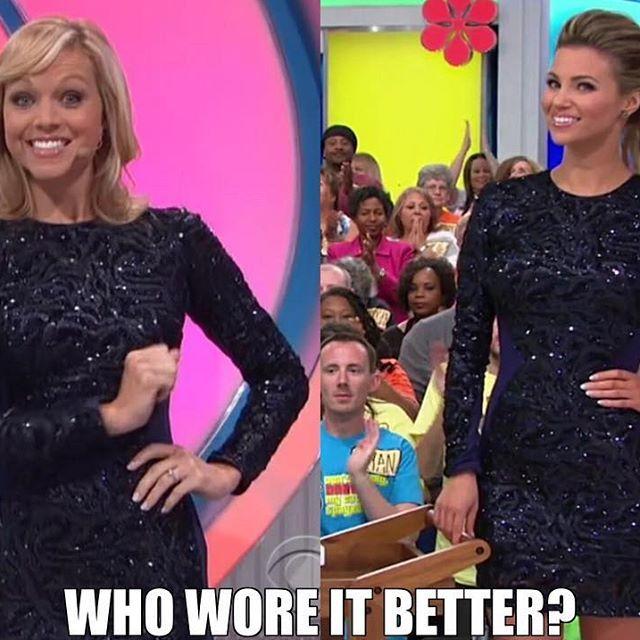 Tiffany Coyne and Amber Lancaster sizzles in Dress the Population. Who wore it better? ✨👗 @tiffanylcoyne @letsmakeadealcbs @amberlancaster007 @therealpriceisright #meme #dressthepopulation #sequindress #bodycondress #longsleevedress #minidress #miniskirt #fashion #cbs #tiffanycoyne #letsmakeadeal #lmad #amberlancaster #glamber #thepriceisright #priceisright #tpir #instafashion #whoworeitbetter