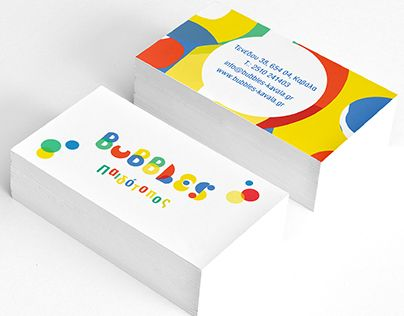 """Check out new work on my @Behance portfolio: """"Bubbles Visual identity"""" http://be.net/gallery/44267165/Bubbles-Visual-identity"""