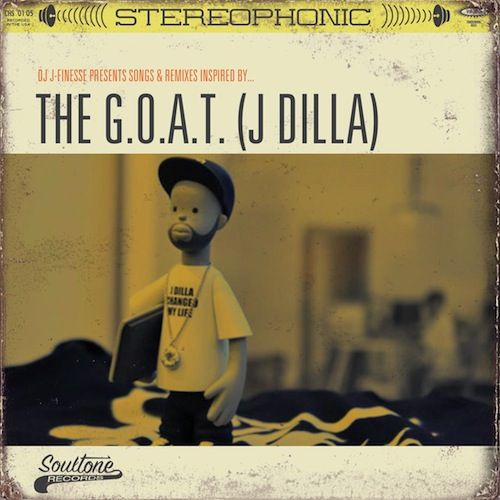 """DJ J-Finesse – """"THE G.O.A.T."""" (J DILLA Remix-Album ft. Common, Slum Village, Erykah Badu, Elzhi + more)"""