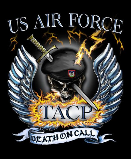 An Air Force Special Operations Command TACP JTAC graphic while on an practice with other AFSOC forces. Description from pinterest.com. I searched for this on bing.com/images