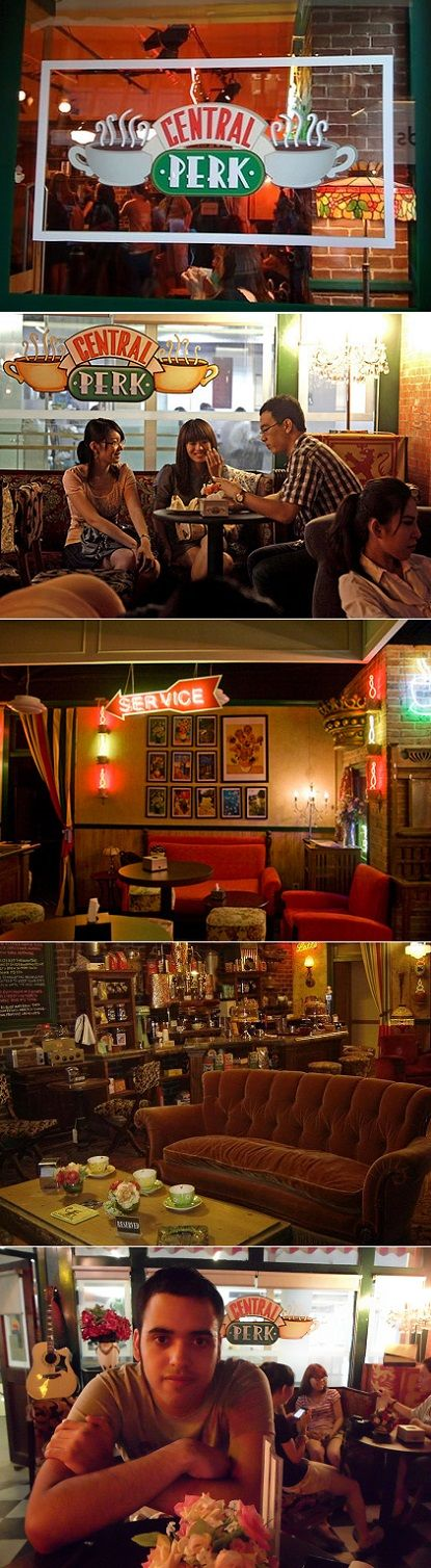 And you KNEW it had to happen:  Beijing has it's own Central Perk created as a functioning coffee shop and homage to the famous TV show!