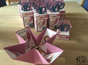 Stampin Up, Explosion Box, Verjaardag, Uitnodiging, Mellis Stamp Paradise (8)  – Bastelideen
