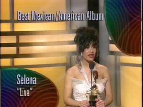 Selena Quintanilla GRAMMY NIGHT 1994 Reyna por Siempre