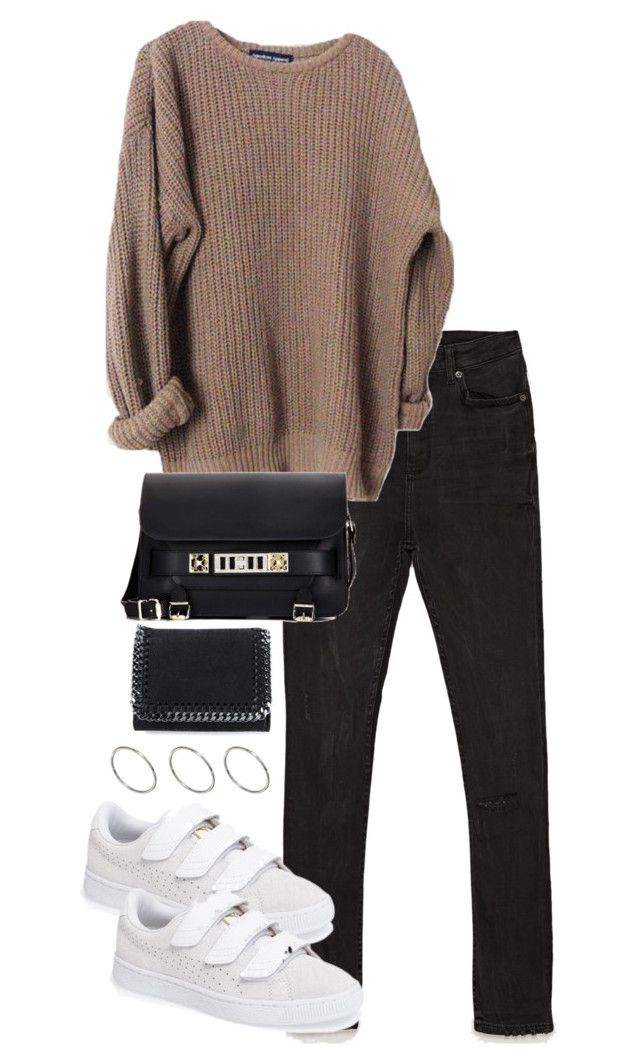 """Untitled #4434"" by theeuropeancloset on Polyvore featuring Proenza Schouler, Puma, STELLA McCARTNEY and ASOS"