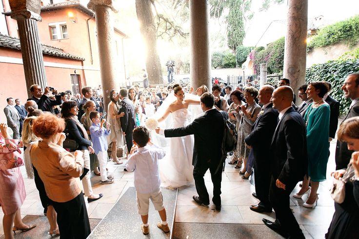 A wedding in San Giovanni a Porta Latina: the arcate is lovely. #rome #italy #church http://fibrediluce.blogspot.it/2012/10/francesca-e-lorenzo-9-giugno-2012.html