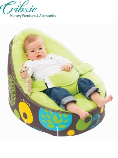 Doomoo baby bean bag seat | Tree Lemon | Nursery Furniture | Baby Accessories Ireland | Cribs.ie