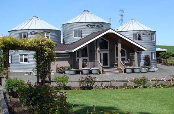 Interesting design. Abbey Road Farms Bed and Breakfast. Carlton, Oregon