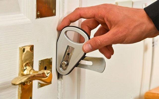 Super Strong Portable Door Lock Door Locks Temporary Door Security Door