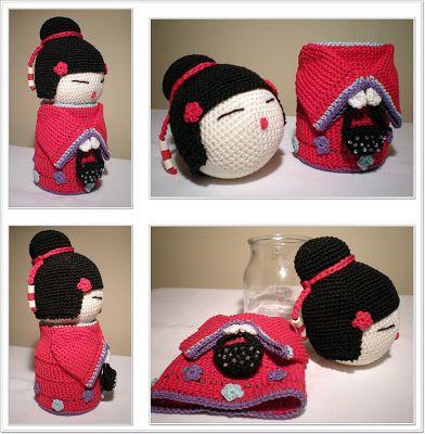 Small Things of Crochet: Kokeshi