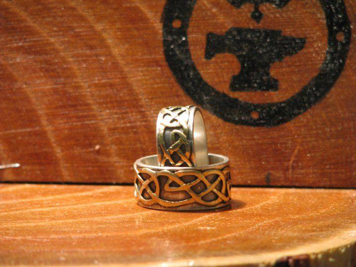 Anillos  celtas Matrimonio