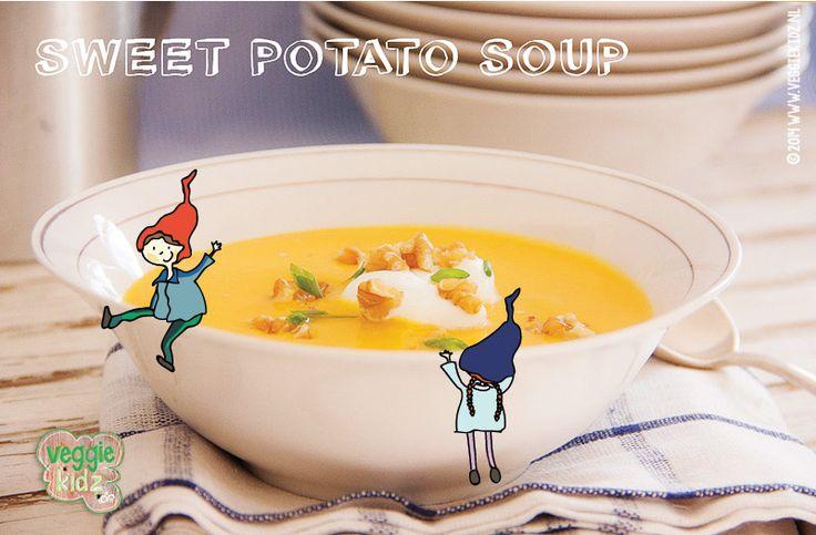 Op zoek naar een lekker soeprecept met zoete aardappel? Succes gegarandeerd bij de kinderen, met dit lekkere recept van onze blogger Helmi.