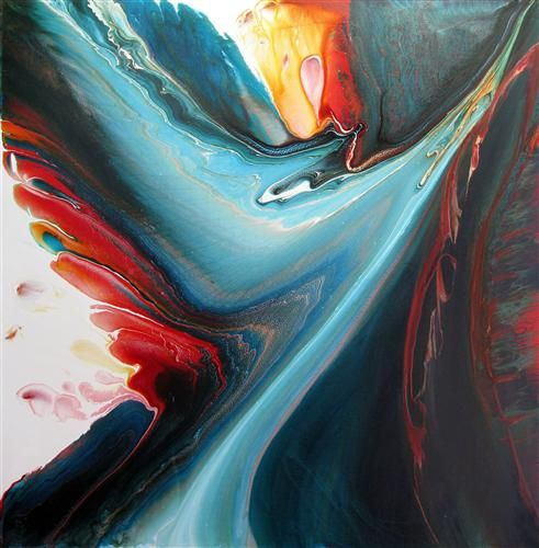 Acrylic on canvas by Krispen Spencer via Ugallery