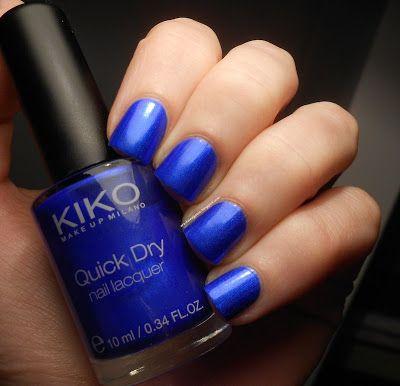 Kiko 830 Blu metallico / Metallic blue Follow the link for a detailed review!