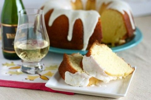 Almond Champagne and Lemon Bundt Cake
