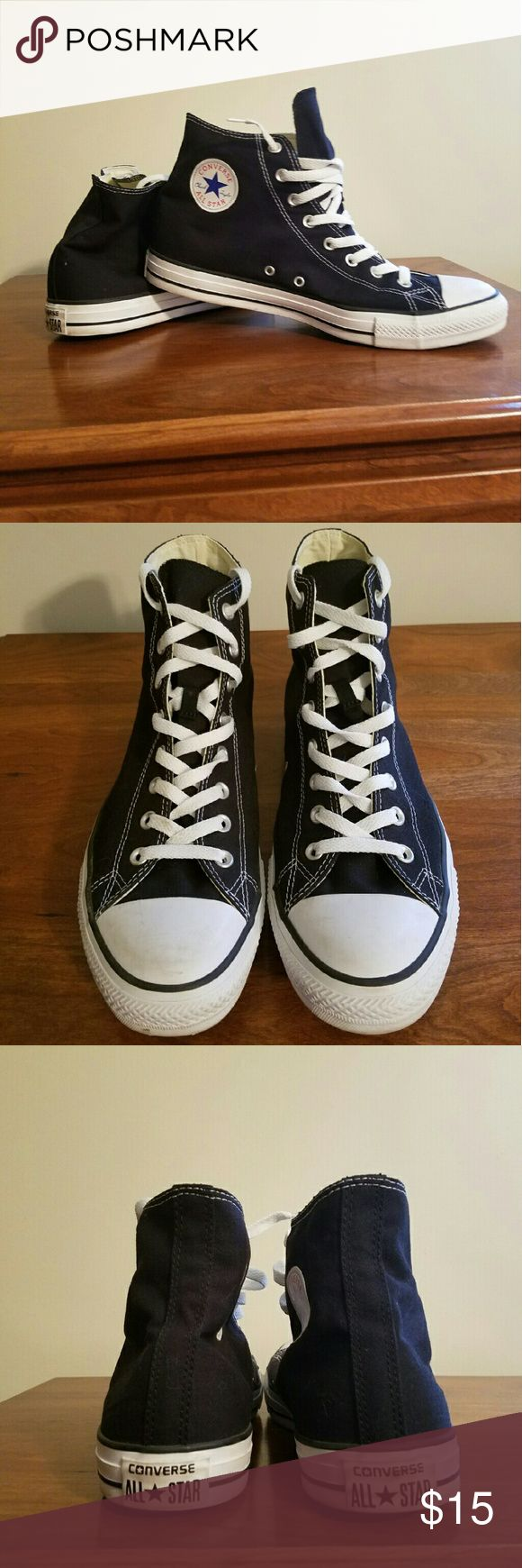 Allstar Converse Hightops Men's size 12 Allstar Converse shoes worn a handful of times . Converse Shoes Sneakers