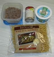 Hamburger Stroganoff - Eat at Home. Love that she uses ALDI's products!!!!