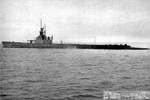 USS Gato SS-212. The United States Navy Gato-class submarines were launched 1941–43 and were the first mass-production US submarine class of World War II (73 boats).Together with their near-sisters the Balao (131 boats) and Tench (30 boats) classes, their design formed the majority of the United States Navy's World War II submarine fleet.