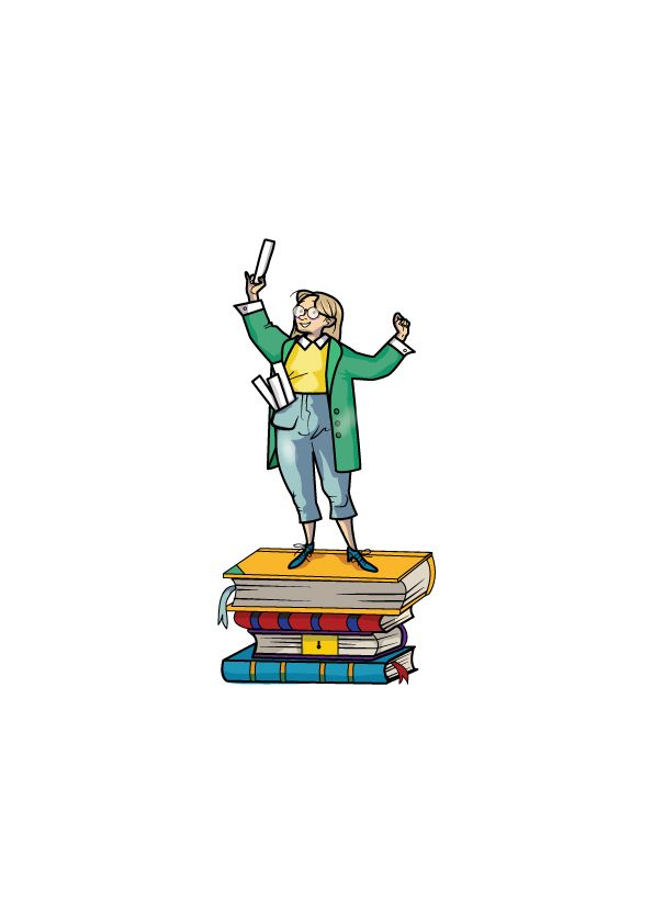 Tiny Teacher made for an English textbook called Tiddly Link 5 by Marcelle Versteeg.