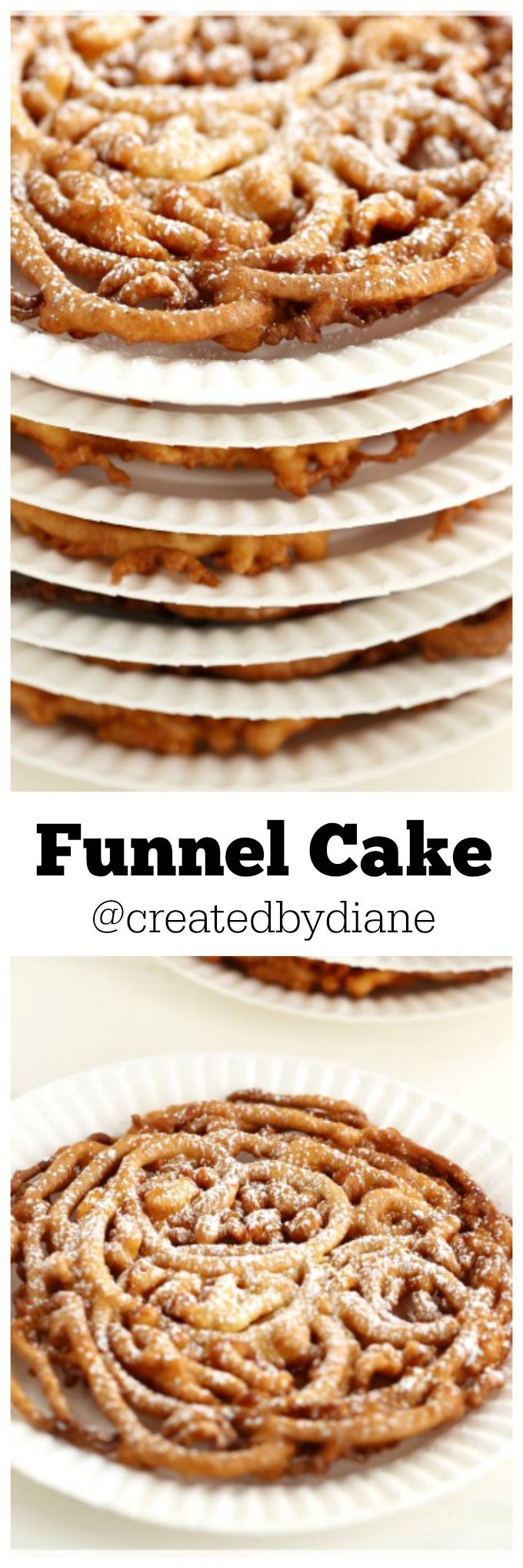 Funnel Cake- It's crunchy and delicious and slightly sweet