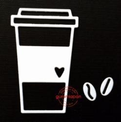 Gummiapan - Kaffemugg