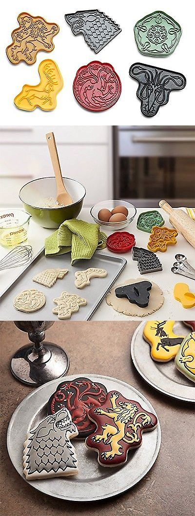 Cookie Cutters 32884: Bpa-Free 6-Pc Game Of Thrones House Sigil Plastic Cookie Cutters Set -> BUY IT NOW ONLY: $36.83 on eBay!