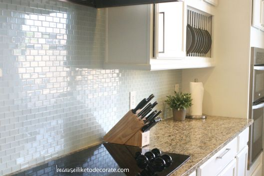 Taupe Tegels Keuken : Lowe's Glass Tiles Kitchen Backsplashes
