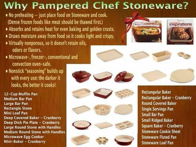 Why Use Pampered Chef Stoneware http://www.pamperedchef.biz/jenne13