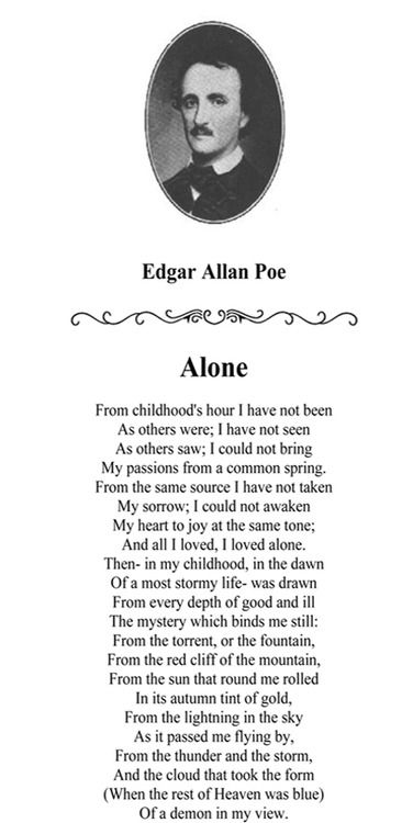 literary elements in edgar allan poe s A short edgar allan poe biography describes edgar allan poe's life, times, and work also explains the historical and literary context that influenced poe's short stories.