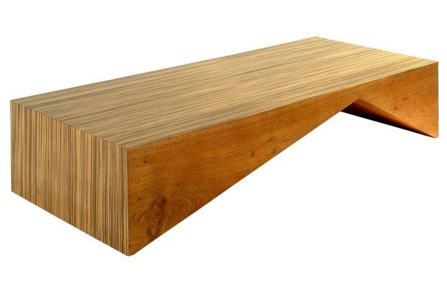 Houten Salontafel Design.Houten Salontafel Met Uitzonderlijk Design In 37 Modellen