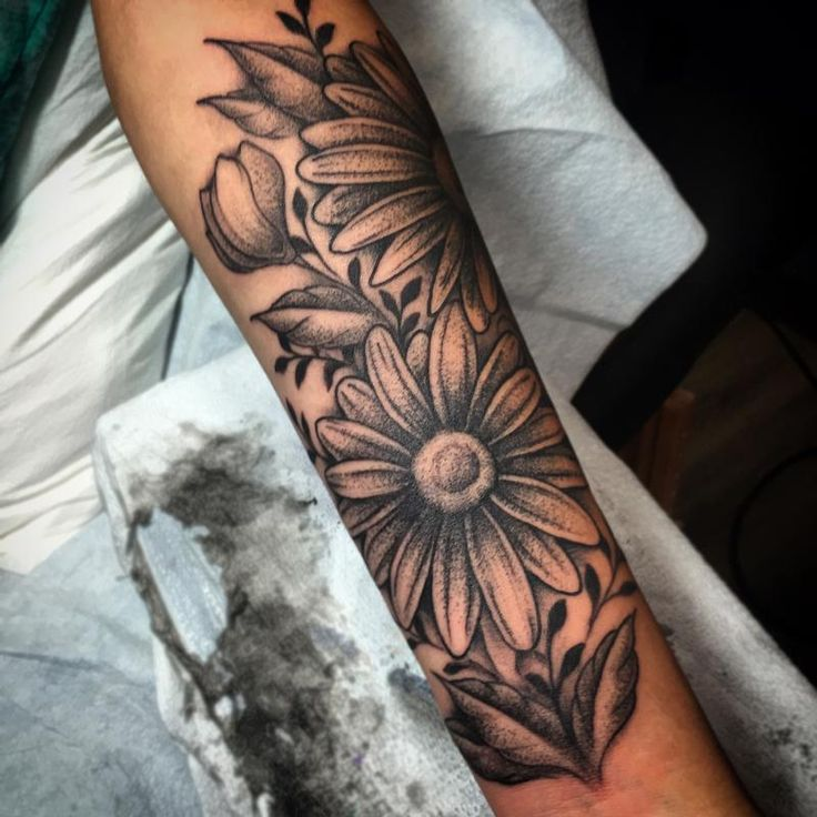 Image result for daisy tattoos