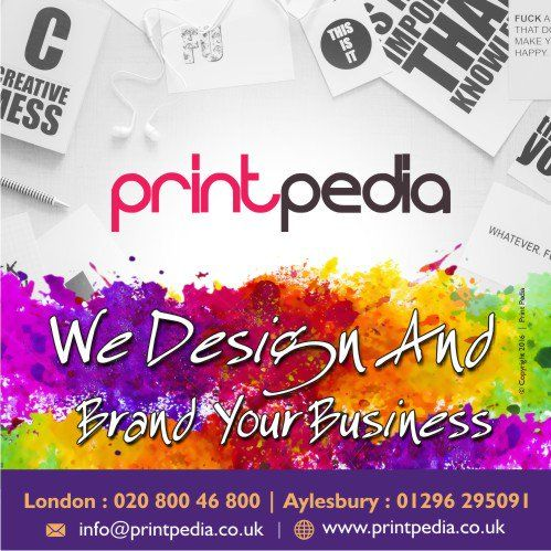 We BRAND you. #GraphicDesign, #LogoDesign, Concept Design. Get in touch with us today on 07507910808 or 02080046800. #Aylesbury #LogoDesignAylesbury #LogoDesignUK #LogoDesignerAylesbury #LogoDesignerLondon #Miltonkeynes #Leeds #Chesham #Oxford #Bristol www.printpedia.co.uk