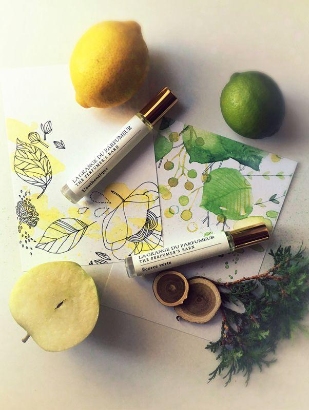 lagrangeduparfumeur.com Cologne 1245 en duo pétillant [Écorce Verte & L'authentique]  #cologne #parfum #naturalbeauty #faitauquebec #parfumerie #cecilehudrisier