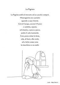 La Pigrizia - Filastrocca