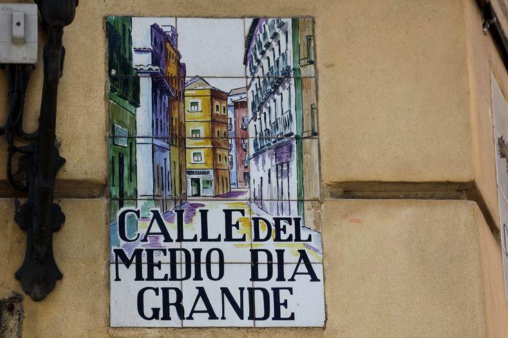 Calle Del Mediodia Grande (Madrid) - 1