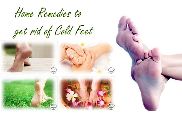 how to get rid of cold sweaty feet