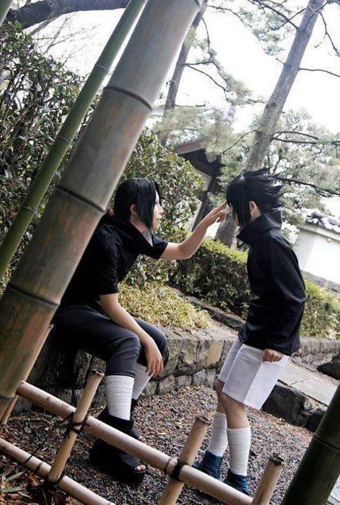 Epic scene! So cute! =3 <3 Uchiha Itachi x Uchiha Sasuke ::Naruto Shippuden::