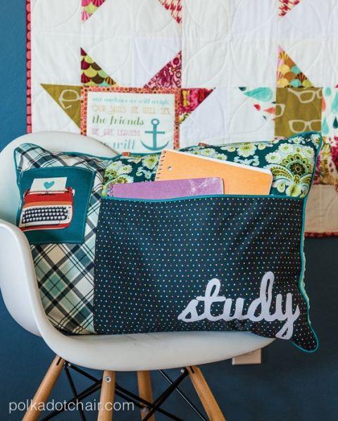 Study Pillow Sewing Pattern – liebe die Taschen und andere süße Nähideen   – Sew