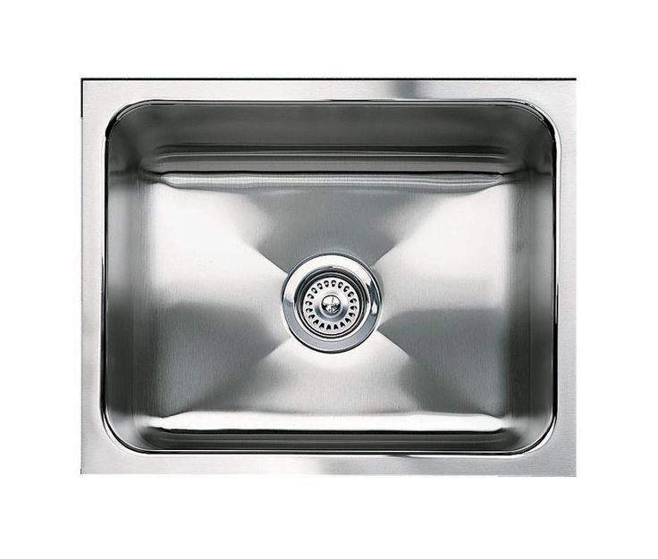 Blanco 440292 Magnum Single Basin Stainless Steel Kitchen Sink With 12