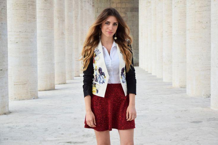 Italian Fashion Blogger wearing a Preppy style in Rome  ~ abbigliamento preppy ootd