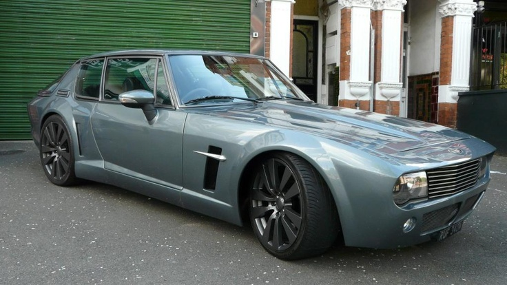 One off, bespoke build Jensen Interceptor with a Dodge Viper V10 engine.  This thing is SUPER healthy!!!