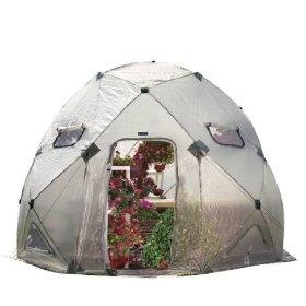 Flower House FHDO800 DomeHouse Hub Style Greenhouse... Geodesic Dome Greenhouse #rrrsirgo #rrrgreenhouse