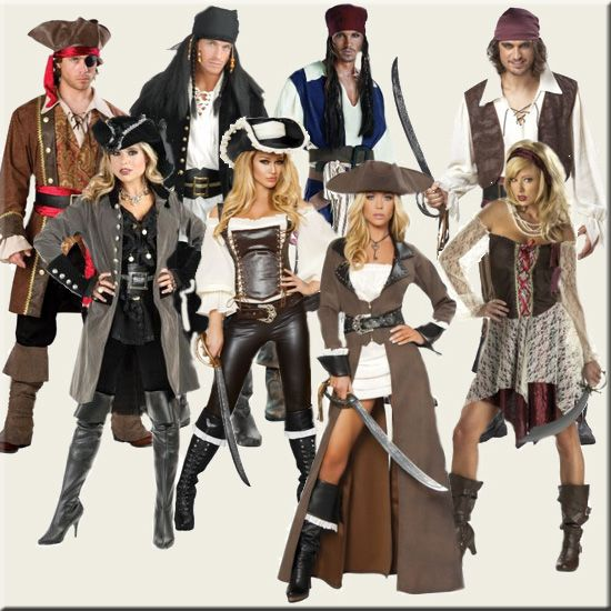 The Best Homemade Pirate Costume Ideas, makeup tutorials and videos, patterns and how-to instructions for that awesome Homemade Pirate Costume look.