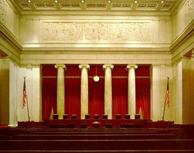 United States Supreme Court Building - Old Supreme Court Chamber, where the Court sat from 1810-1860