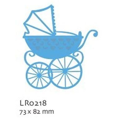 Marianne Creatable Eline Baby Carriage  £9.95 RRP http://www.craftwithus.co.uk/landing.php?itemid=353