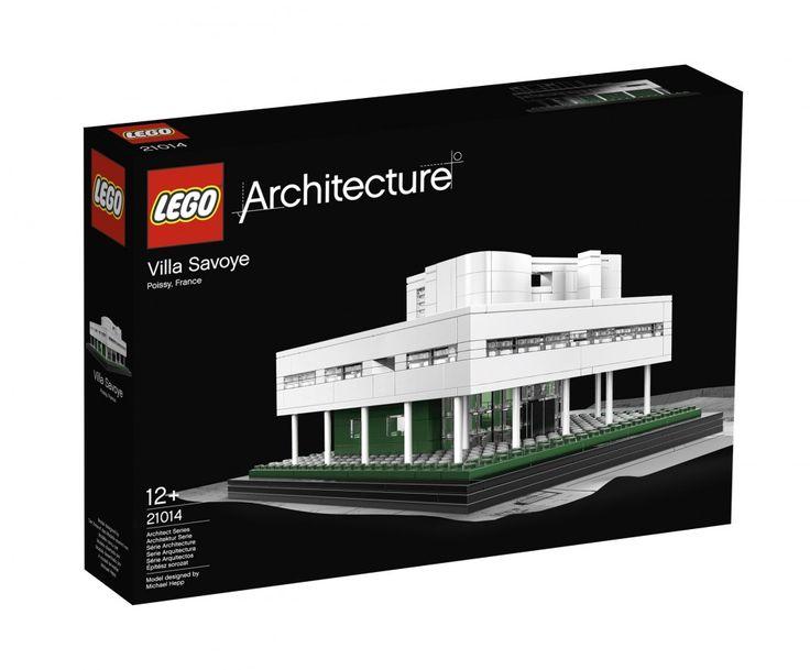Win Le Corbusier's Villa Savoye from LEGO® ArchitectureLego Architecture, Le Corbusier, Villas Savoy, Lecorbusier, Toys, Things, Lego Villas, Products, Architecture Villas